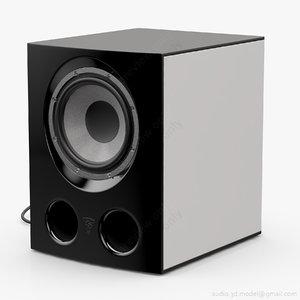 passive focal jmlab sub 3D model