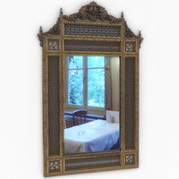 arabesque mirror 3D model