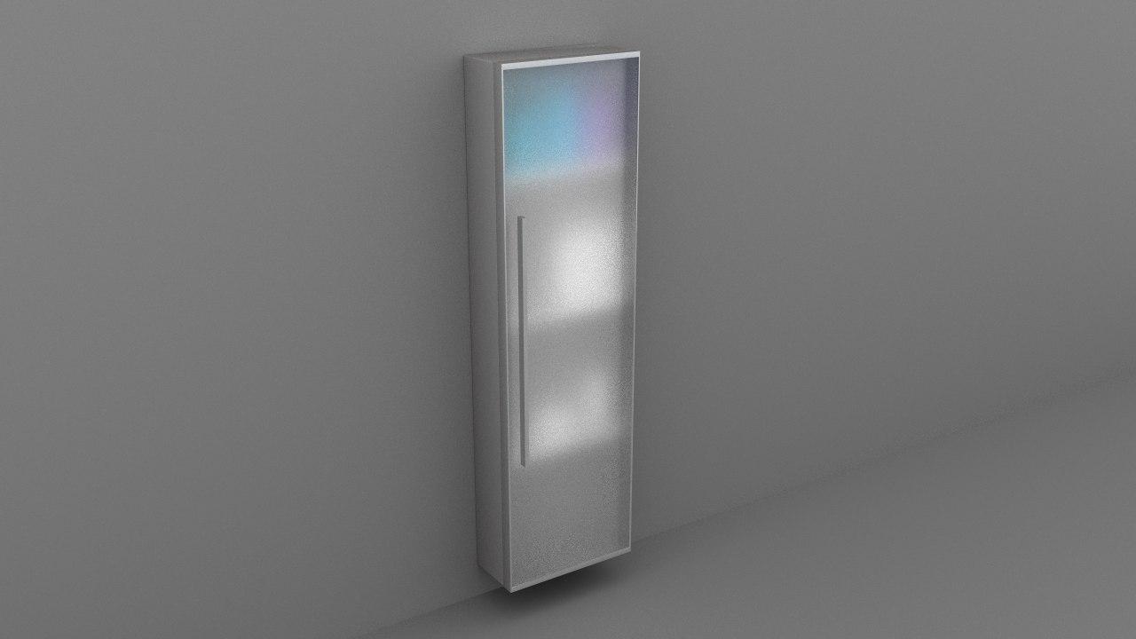 toilet cupboard 3D