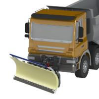 3D snow plow