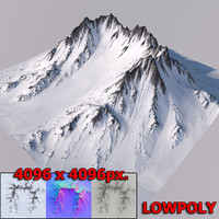 snow mountain 3D