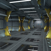 SciFi Corridor - Customizable Modules