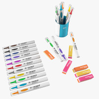 Markers Erasers