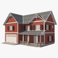 3D house traditional