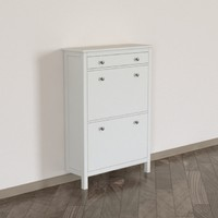 3D hemnes shoe cabinet 2 model