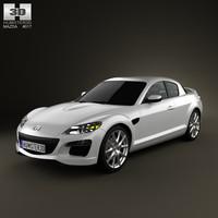 3D mazda rx-8 2011 model