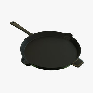 frying pan 3D model