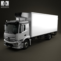 Mercedes-Benz Antos Box Truck 2012