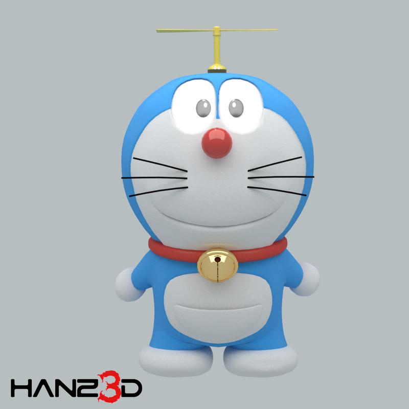 Doraemon 3d Game: Doraemon Model