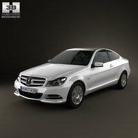 3D mercedes-benz c class model