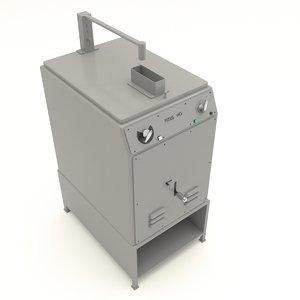 3D model caster 72