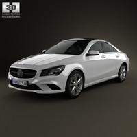 2013 c117 cla 3D model