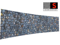 3D antic wall scan 16k