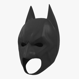 3D batman mask