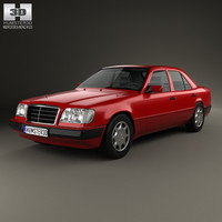 mercedes e-class mercedes-benz 3D model