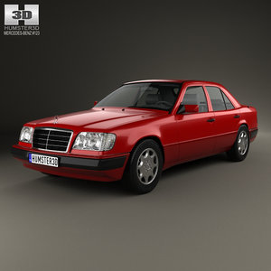 mercedes e-class mercedes-benz 3D model
