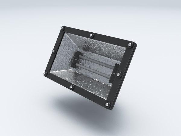 res reflector light 3D
