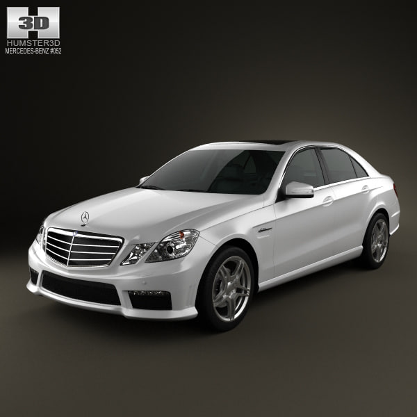 mercedes-benz e63 amg 3D