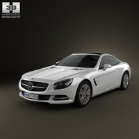 3D mercedes-benz sl-class sl model