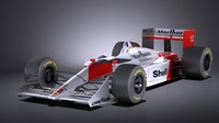 Mclaren Honda MP4 4 Ayrton Senna VRAY