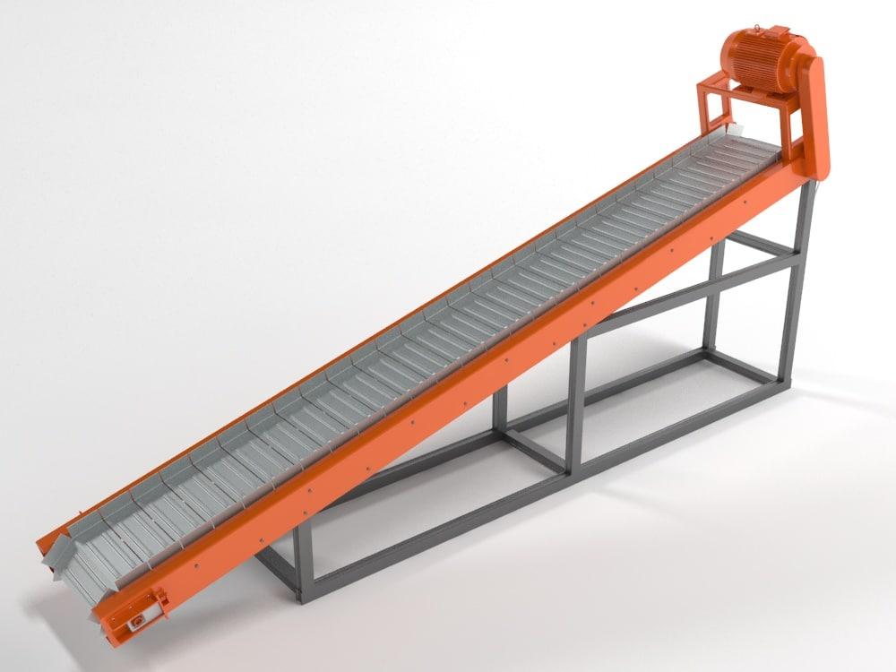 plate conveyor model