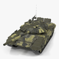 t72 main battle tank 3D