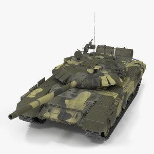 t72 main battle tank 3D