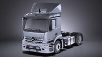 3D 2016 mercedes truck