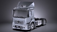 Mercedes Antos 2016 Semi Truck VRAY