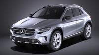 3D 2014 mercedes benz model