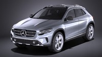 Mercedes Benz GLA Concept 2014 VRAY
