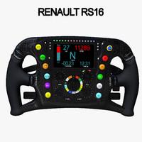 steering wheel 1 3D