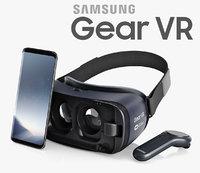 samsung gear vr controller 3D model