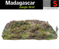 3D jungle wall 16k model