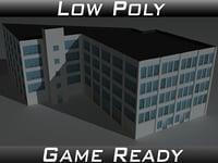 factory building 13 3D model
