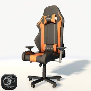 3D chair dxracer
