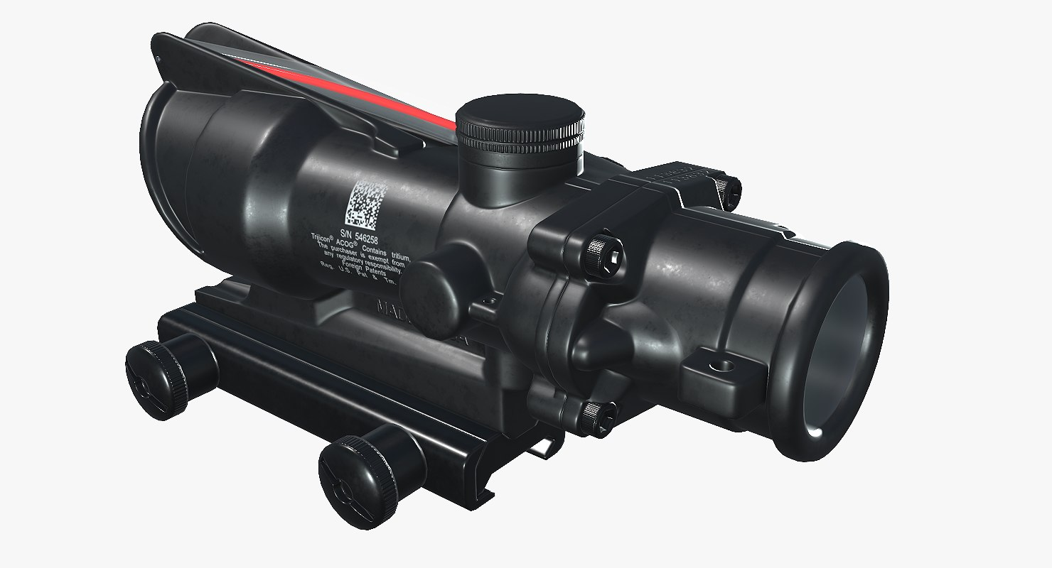 ready acog scope 3D model