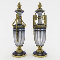 3D classic vase model