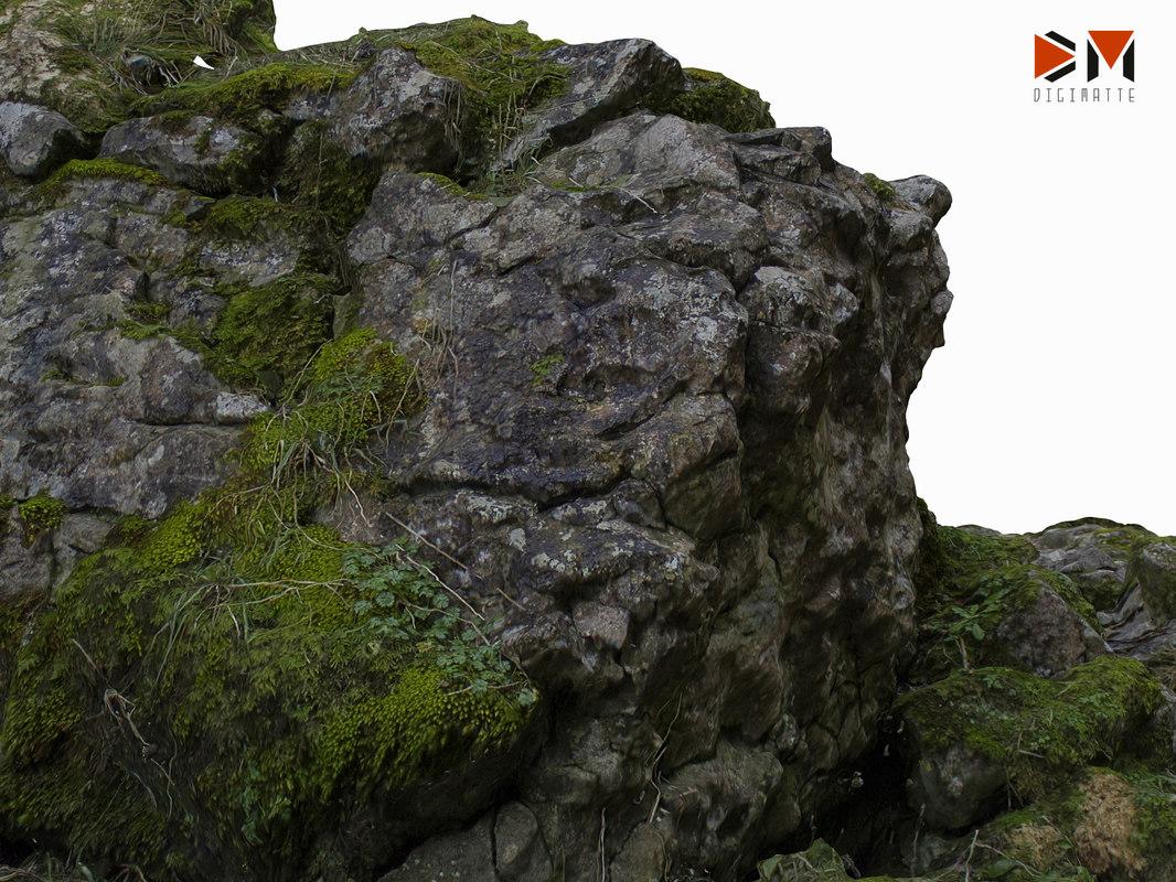 3D boulder pile 02