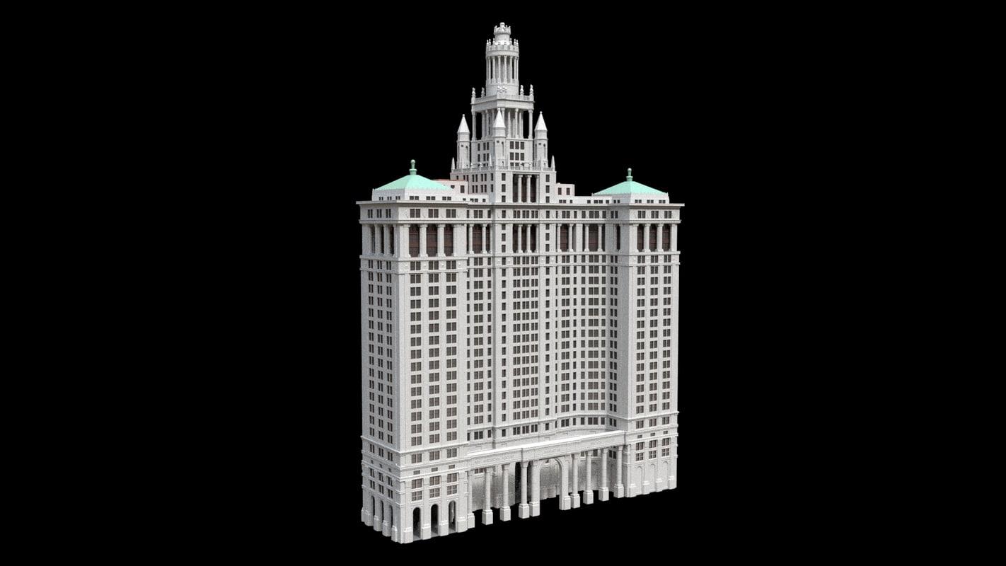 municipal building new york model