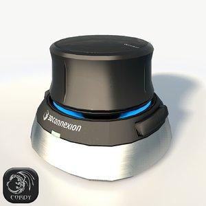 3dconnexion space navigator 3D
