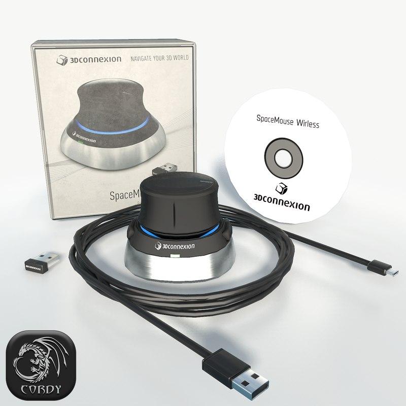 3D 3dconnexion space navigator pack