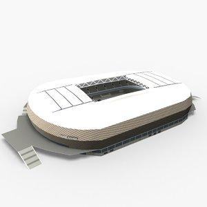 3D tele2 arena