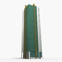3D model ocean terrace abu dhabi