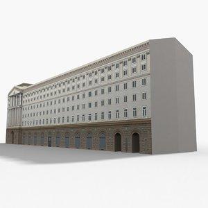presidency building 3D