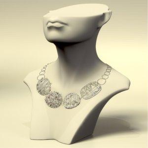 cnc stl silver 3D