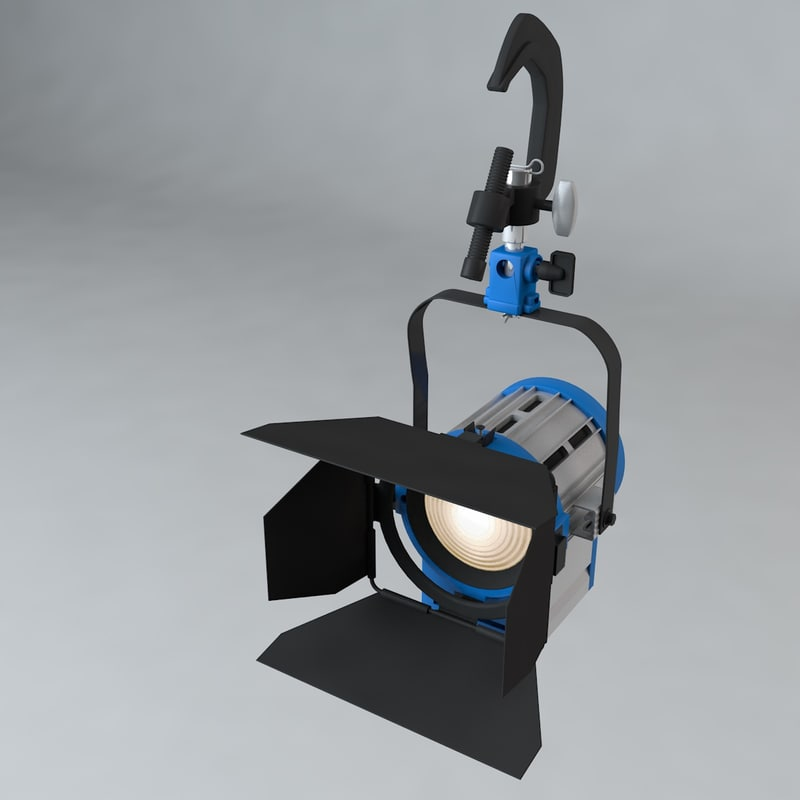 3D production light pipe clamp model