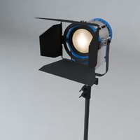 Production Light with Stand
