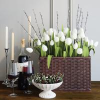 3D tulips