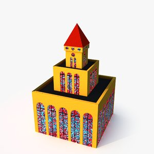guard tower model